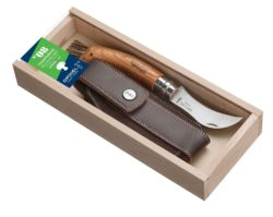 Champignon kniv med træskaft fra Opinel