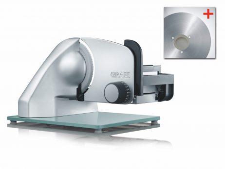 Graef SEMI-PRO pålægsmaskine 170 mm. - med glat OG rillet klinge