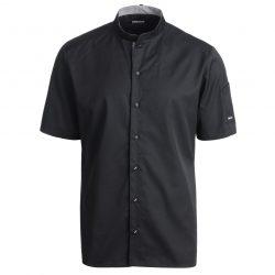 Kentaur - Kokke-/service skjorte m. kortærme - Sort