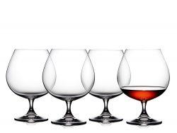 Lyngby Glas Cognacglas 69 cl 4 stk.