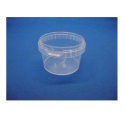 Plastbøtte 5011- 280 ml.- klar. inkl. låg