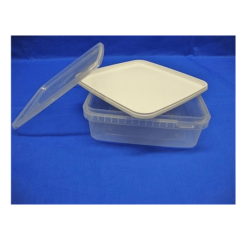 Plastbøtte, stabelbar og fødevaregodkendte, 1500 ml, 5541DTE