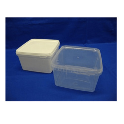 Plastbøtte, stabelbar og fødevaregodkendte, 3000 ml, 5544DTE