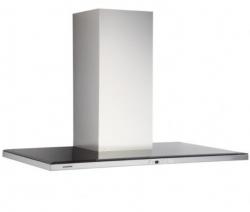Silverline Nordic Dark 90 cm, stål m/sort glastop