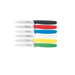 Skrællekniv, knivsæt á 6 stk, Fra Hendi