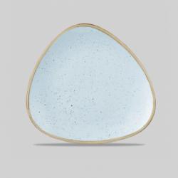 Stonecast duck trekantet tallerken (blå) Churchill