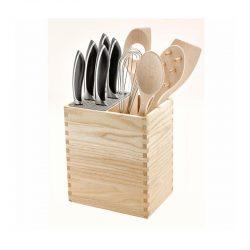 Legnoart MISTERY BOX Knivblok & redskabsholder