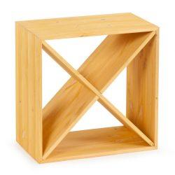 Cube vinhylde i lys Eg, plads til 24 flasker fra Gastro De Luxe