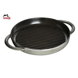 Grillpande rund, Grafit grå, Staub pure grill - Flere størrelse