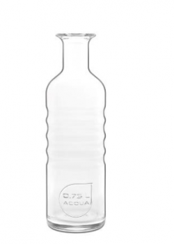 Optima vandkaraffel, klar, 75 cl – (H)26 cm